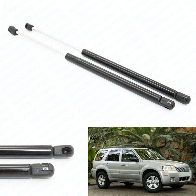 2pcs Rear Window Auto Gas Spring Struts Prop Lift Support Fits for 2001-2007 Ford Escape 2005-2006 2007 Mercury Mariner