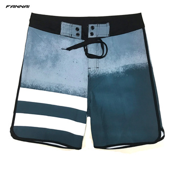 Men's Board Shorts Surf Swimwear Beach High Elastic Swimming Trunks Beach Shorts Beachwear Sports Shorts Male Swimsuit Trunks 2