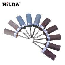 HILDA 5 шт. абразивные инструменты шлифовальная лента бумажные шлифовальные ленты Песочная бумага шлифовальные круги для вращающихся инструментов Dremel