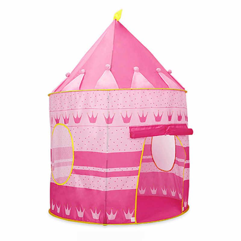 Anak Portabel Bermain Tenda Anak Dalam Ruangan Luar Mainan Laut Bola Pool Lipat Cubby Castle
