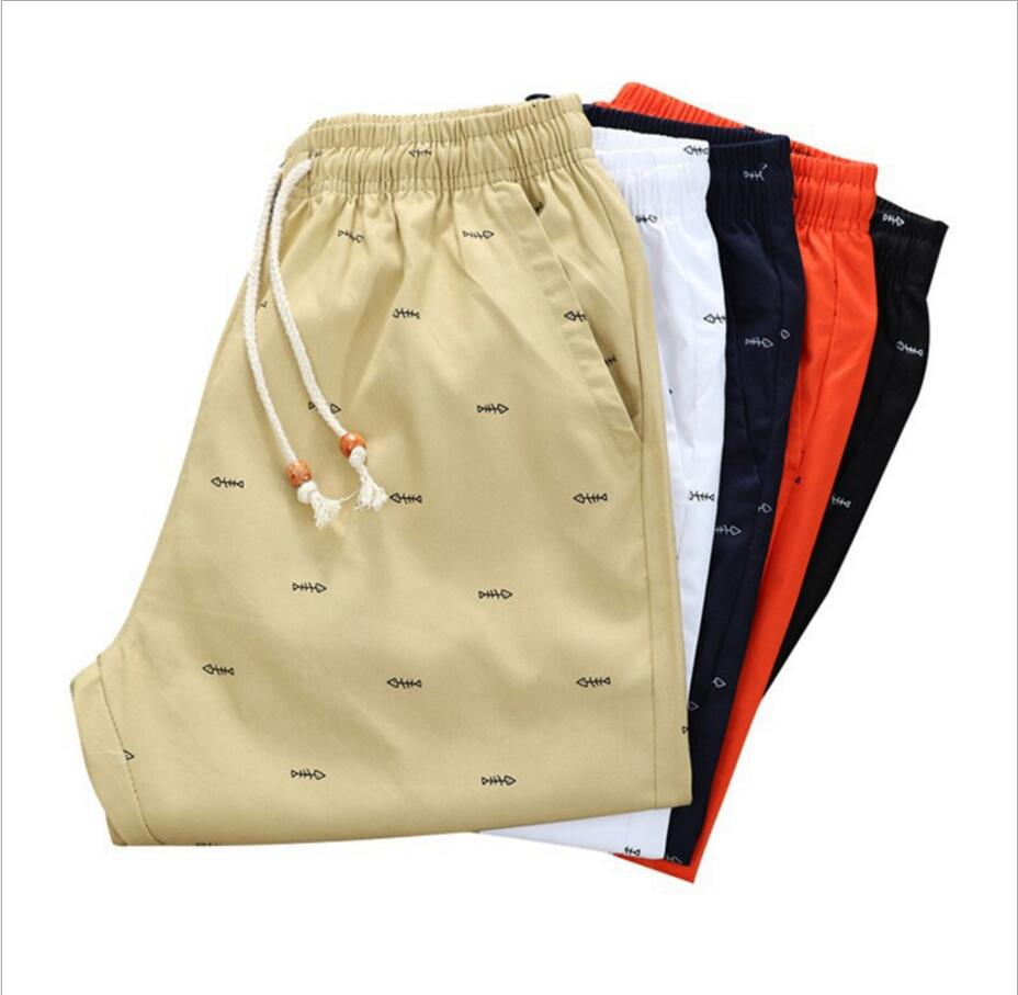 Male Shorts Joggers Bermuda Cotton Summer Plus-Size Fashion Casual M-5xl Men Newest