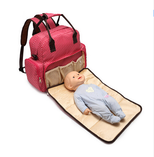 Large Capacity Designer Baby Bags for Mom Mummy Diaper Bag Backpack Baby Stroller Organizer Carriage Pram Accessories Nappy Bags