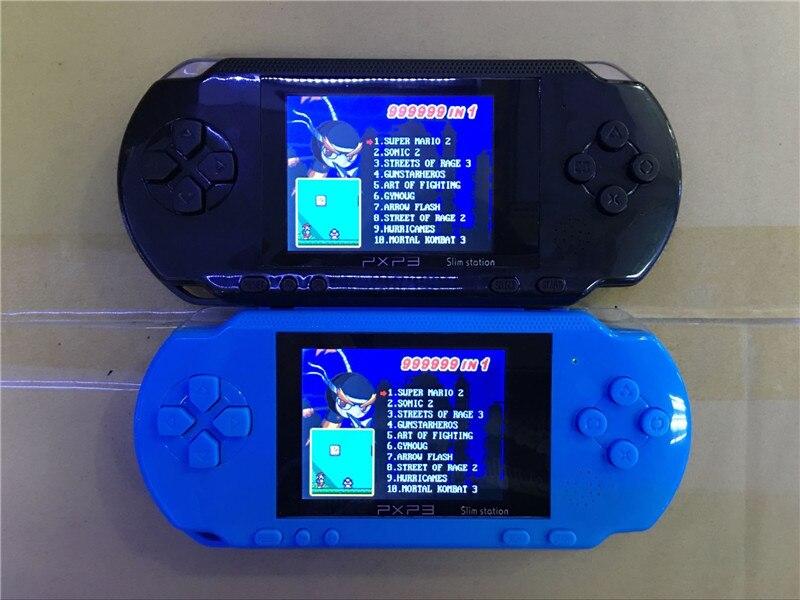 Mp4 Player Motiviert Hohe Qualität Mp4 Player Pxp3 Dünne Station Tasche Spiel Kinder Student 16-bit Video Game Player Handheld-konsole Unterhaltungselektronik Free Spielkarte