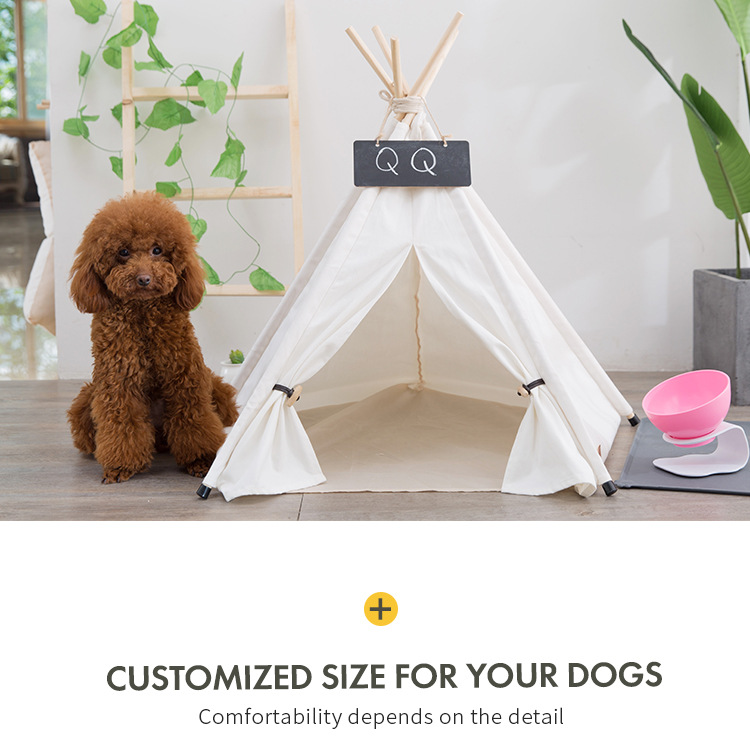 Pet Houses Cat Portable Dog Tents For Small Dogs Foldable Dog House Pet Bed Tent Cat Kennel Indoor Portable Travel Puppy Mats 13