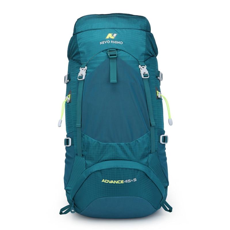 NEVO RHINO 50L Waterproof Mens Backpack Unisex travel pack bag  hiking Outdoor Mountaineering Climbing Camping backpack for  maleBackpacks