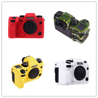 Soft Silicone Rubber Camera Protective Body Case Skin For FUJIFILM fuji X H1 XH1 Camera Bag protector Cover