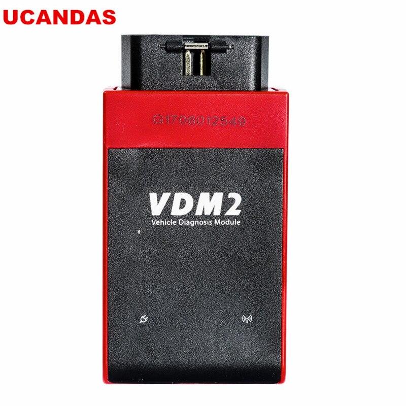 ВДМ ucandas WiFi Автомобильный сканер VDM2 II на В3.9 Поддержка Multi-языка и системы Android