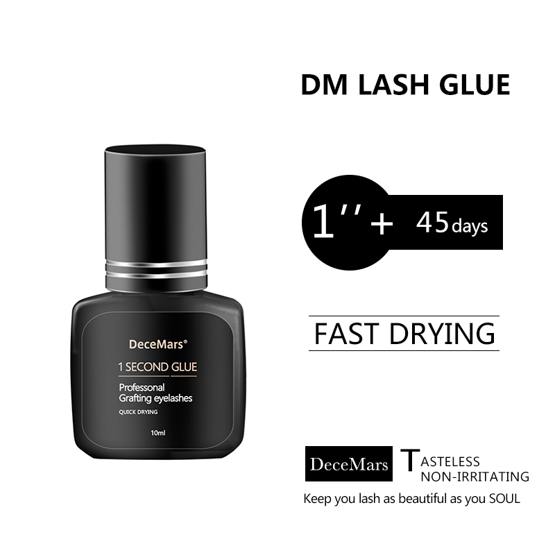 1second Fast Dry  Fans Eyelash Glue For Russian Volume Eyelash Fans Making Glue Dry Time 1s Premade Fans Strong Glue  5ml 10ml