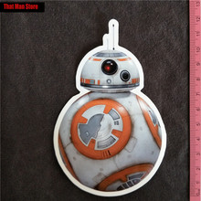 Star Wars BB-8 PVC notebook luggage fridge slide sticker Buy 3 Free 1(China)