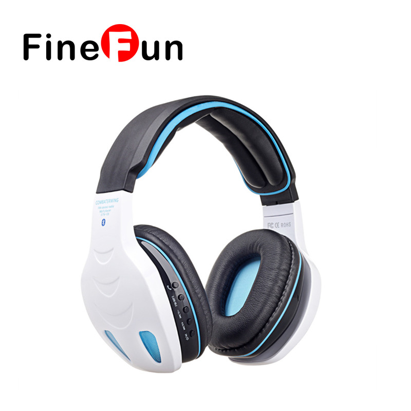 ФОТО Original Kubite STN-08 Stereo Headset Wireless Bluetooth Headset EDR Headphones hands-free Bass Mic Micro SD/TF Slot MP3 Player