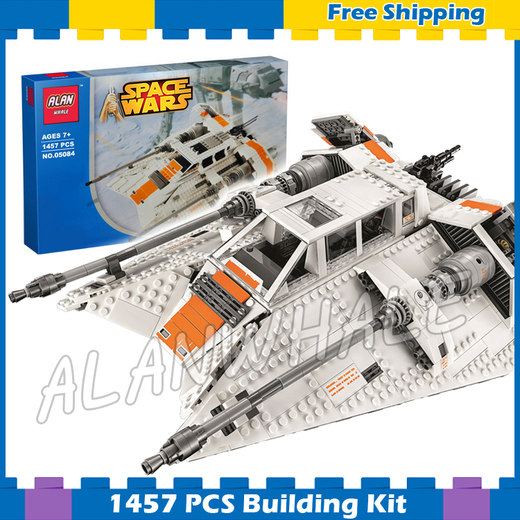 1457pcs Space Wars Snow Speeder 05084 Model Building Blocks Toys Bricks Gifts Sets Games Compatible With Lego