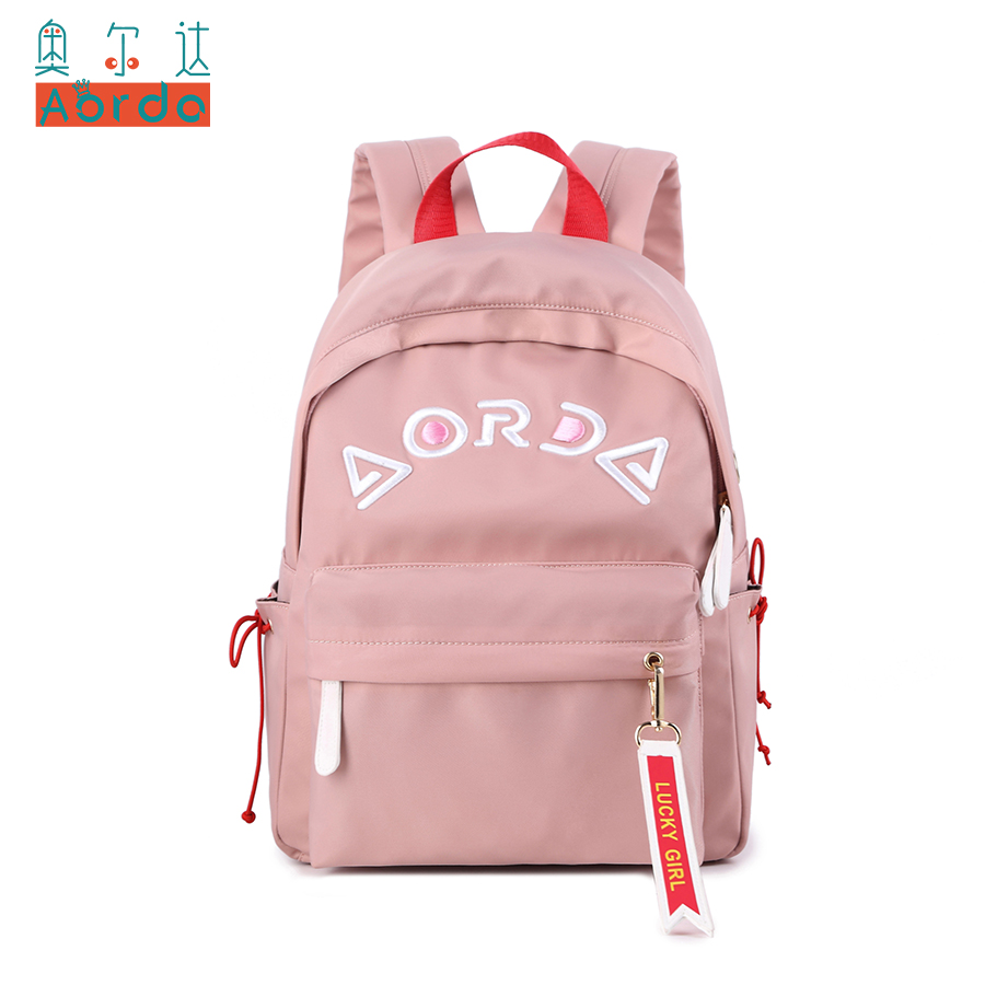 AORDA New Designed Backpack Letter Printing School Bags For Teenager Girls Casual Bookbags Travel Bag Laptop Rucksack Mochila внутрисудовая телефонная связь