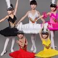 Meninas novas Ballet Clássico Tutu Vestido Crianças Swan Lake Ballet Crianças Traje Desempenho Vestido da Dança Ballet