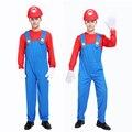 Disfraces de Halloween cosplay masculino adulto Super Mario Mario Louis rendimiento ropa que visten juegos de Rol Juego