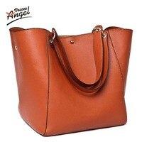 Women Messenger Bags Genuine Leather Luxury Handbags Women Bags Designer Vintage Big Tote Shoulder Bag High
