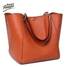 Bolsas de mensajero de las mujeres mujeres de los bolsos de cuero de lujo diseñador vintage tamaño grande bolsos de totalizador del bolso de hombro de alta calidad