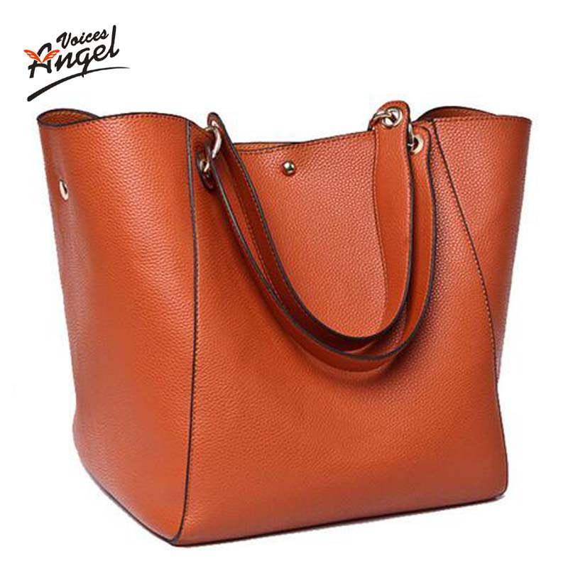ФОТО Women messenger bags leather luxury handbags women bags designer vintage big size tote shoulder bag high quality bolsos