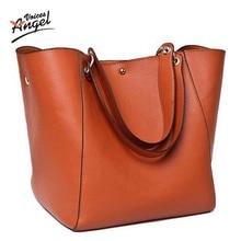 Women messenger bags leather luxury handbags women bags designer vintage big size tote shoulder bag high