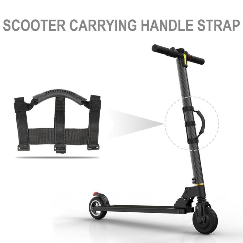 New Universal Electric Scooter Hand Carrying Handle Strap for Xiaomi M365 Pro Ninebot ES1 ES2 ES3 ES4 Scooter Accessories image