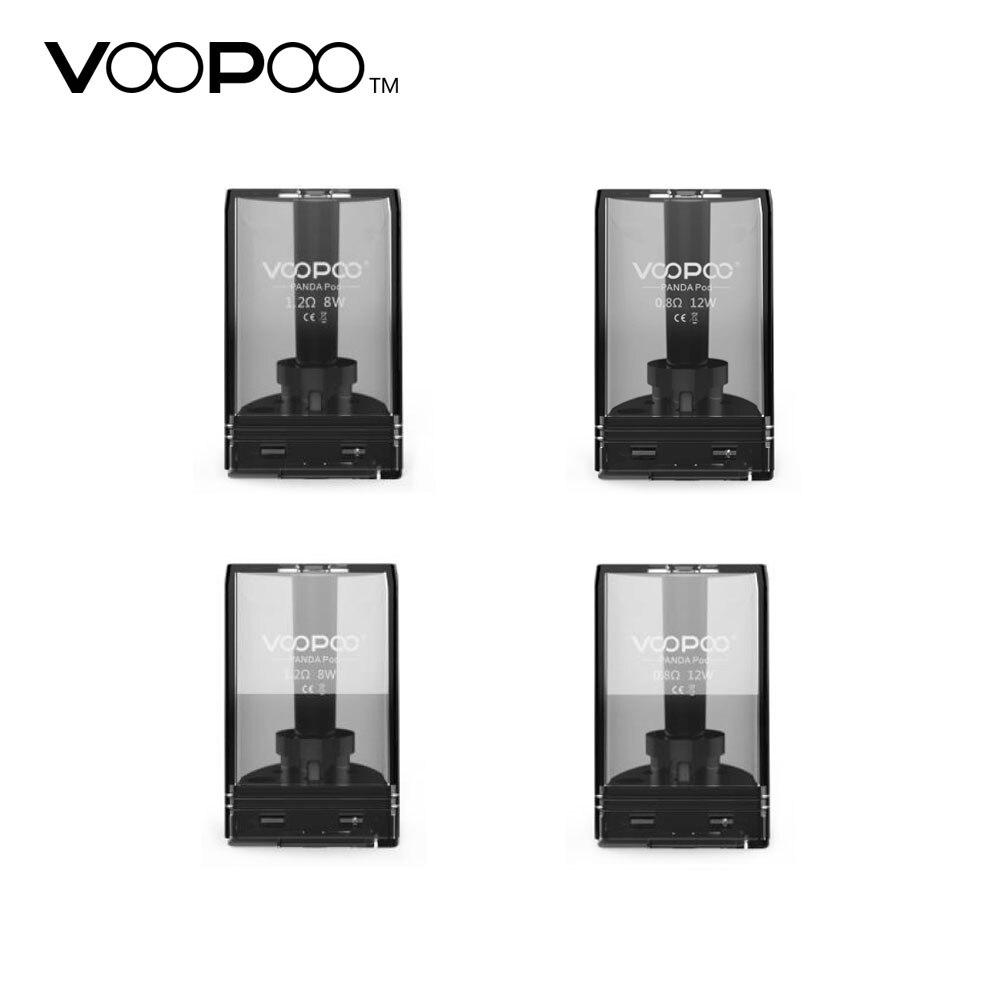 Original VOOPOO Panda Pod cartucho 5 ml w/1.2ohm/0.8ohm bobina para Voopoo Panda AIO Kit Pod tanque panda Vape parte cartucho