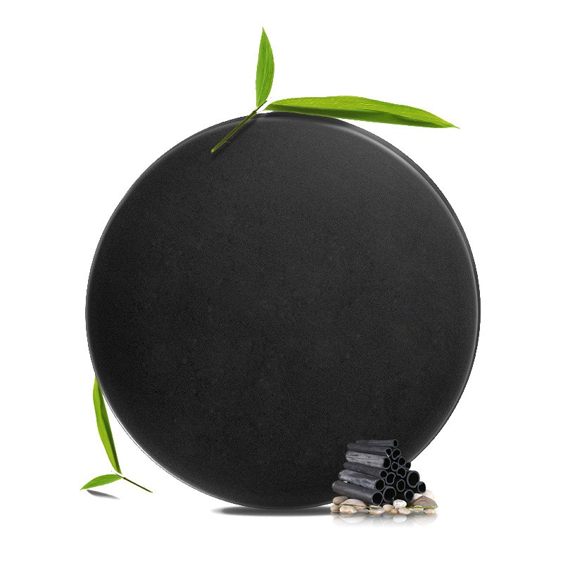 Natural Bamboo Charcoal Handmade Soap Activated Charcoal Skin Whitening Blackhead Remover Acne Treatment Deep Pore Cleanser