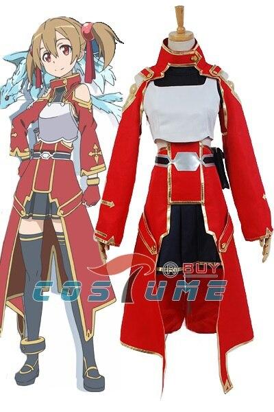 Sword arte en línea SAO Keiko Ayano sílice Cosplay traje para las mujeres  Niñas anime Halloween traje 43594547298e