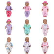 15 Style clothes Wear for 43cm baby Doll, Children best Birthday Gift(only sell clothes) red doll dress clothes wear fit 43cm baby born zapf children best birthday gift only sell clothes