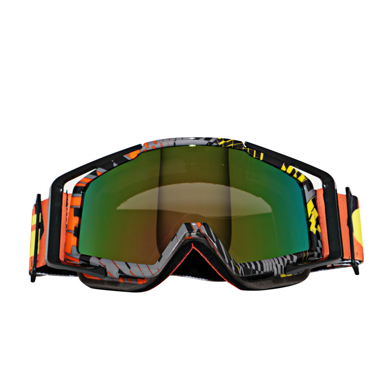 High Quality Motorcycle Protective Glasses Outdoor Windproof Colorful Dustproof Eye Glasses Snowboard Goggles Motocross