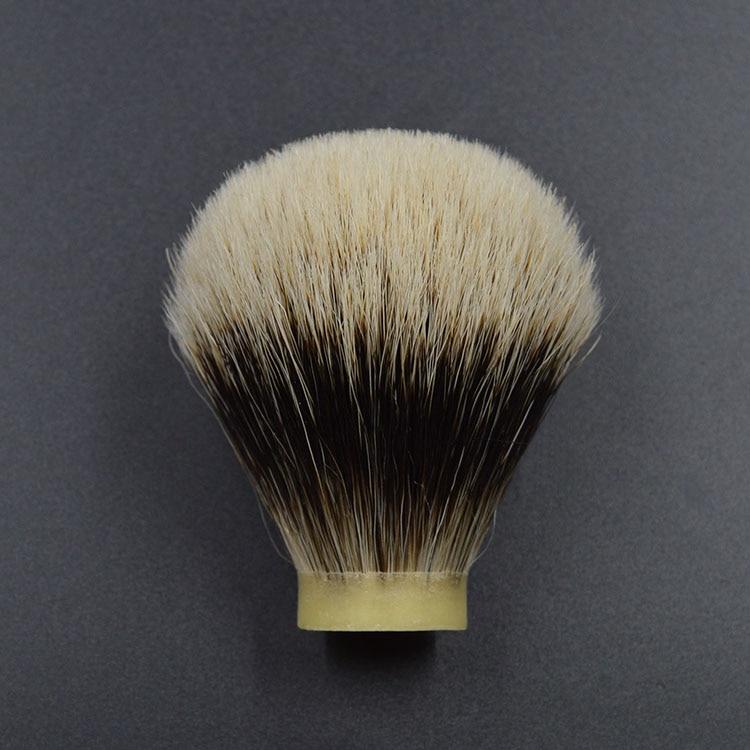 23mm shaving brush knot head two band badger hair beard brush head  shaving brush knot