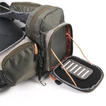 Maximumcatch Draagbare Multifunctionele Vliegvissen Sling Pack Visgerei Zak Vissen Sling Bag