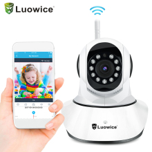Home Security IP Camera Wireless WiFi Camera Surveillance 1080P/720P Night Vision CCTV Baby Monitor wide angle email alarm