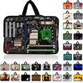 Fashion Universal 7 10 12 13 14 15 17 Portable Laptop Bag Carry Cases Sleeve Netbook Cover Pouch 15.4 15.6 Computer Accessories