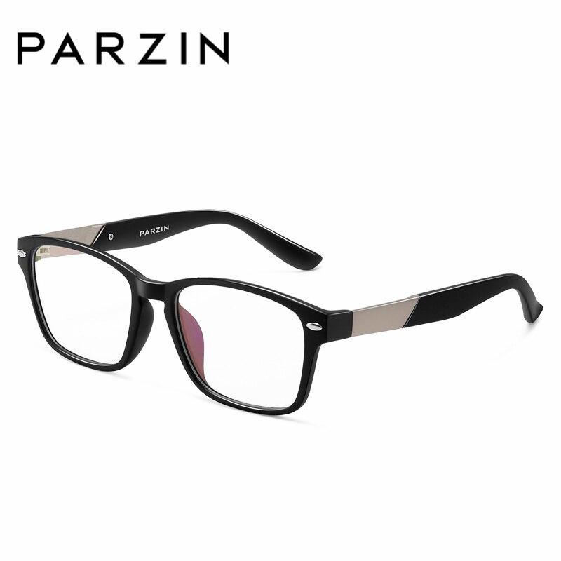 a151a68ce5d PARZIN Prescription Square Frame With Clear Lenses For Myopia Glasses Ultra  light Big Frame Leg Eyewear Frames Online Shop-in Eyewear Frames from  Apparel ...