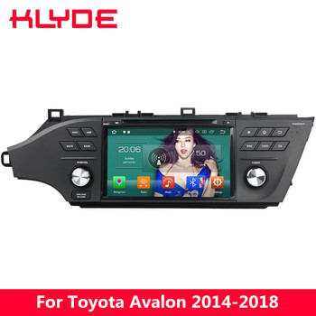 """KLYDE 8"""" 4G Android 8.0 Octa Core 4GB RAM 32GB ROM BT Car DVD Multimedia Player Radio For Toyota Avalon 2014 2015 2016 2017 2018"""