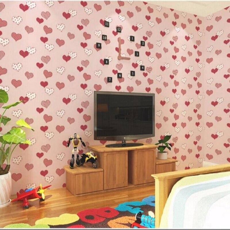 ФОТО Beibehang Modern simple pastoral style cartoon patterns children 's room 3D wallpaper room home decoration living room wallpaper