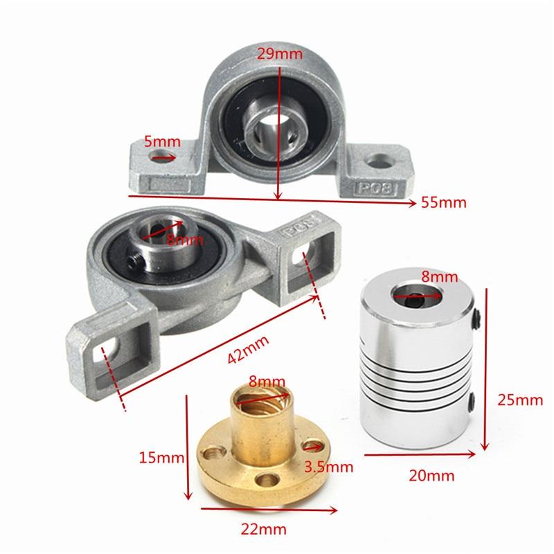 3d Printer Parts e Accessories alumínio 8mm chumbo haste do Marca : Geeetech