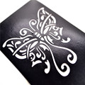 Venta caliente Brillo Tatuaje Arte Corporal Pintura de La Cara Plantillas Plantillas de Tatuajes de Henna Tatouage TemporaireT001-360EE