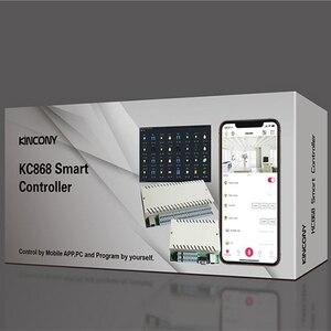 Image 5 - Domotica オガルスマートホームオートメーションモジュールコントローラネットワークリレーリモコンセキュリティ警報システム 8 ギャングイーサネット