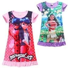 Niños verano moana vestido de fiesta chicas adolescentes ropa de carnaval trajes niños vestidos para niñas de 10 años princesa deguisement(China (Mainland))