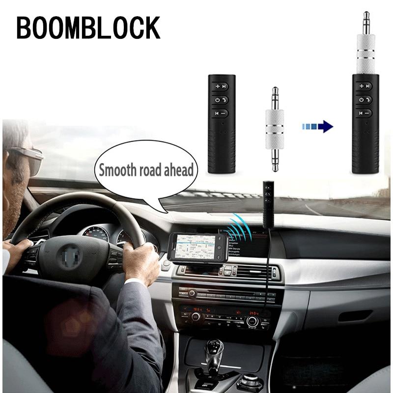 3.5mm Jack Bluetooth Aux Handsfree Audio Receiver Adapter Voor Bmw E46 E90 E60 E39 E36 F30 F10 F20 X5 E53 E70 E30 E87 G30 E34 E92 Rijk Aan PoëTische En Picturale Pracht