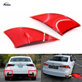 2x Rear LED Bumper Reflector Red lens Tail Brake Light lamp Red for Lexus IS 250 350  XE30 2014+