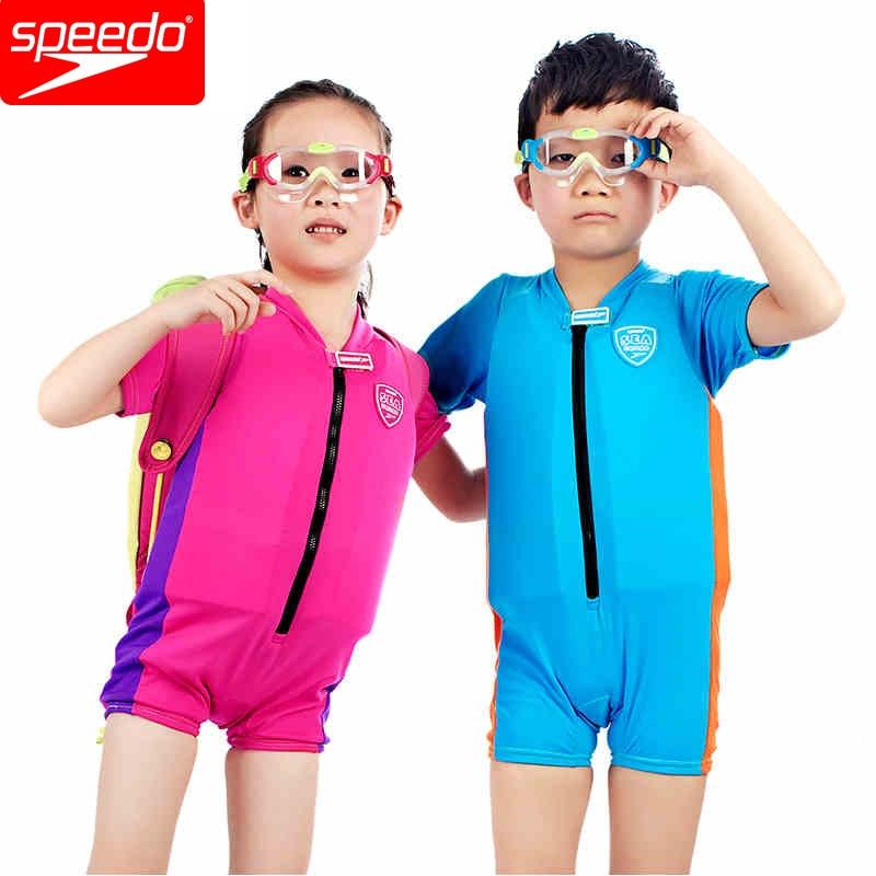 Speedo Kids Sea Squad Floatsuit Boys Swimwear Girls