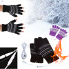 New 5V USB Powered Heating Heated Winter Hand Warmer Gloves Washable Unisex Faster Temperature Rise