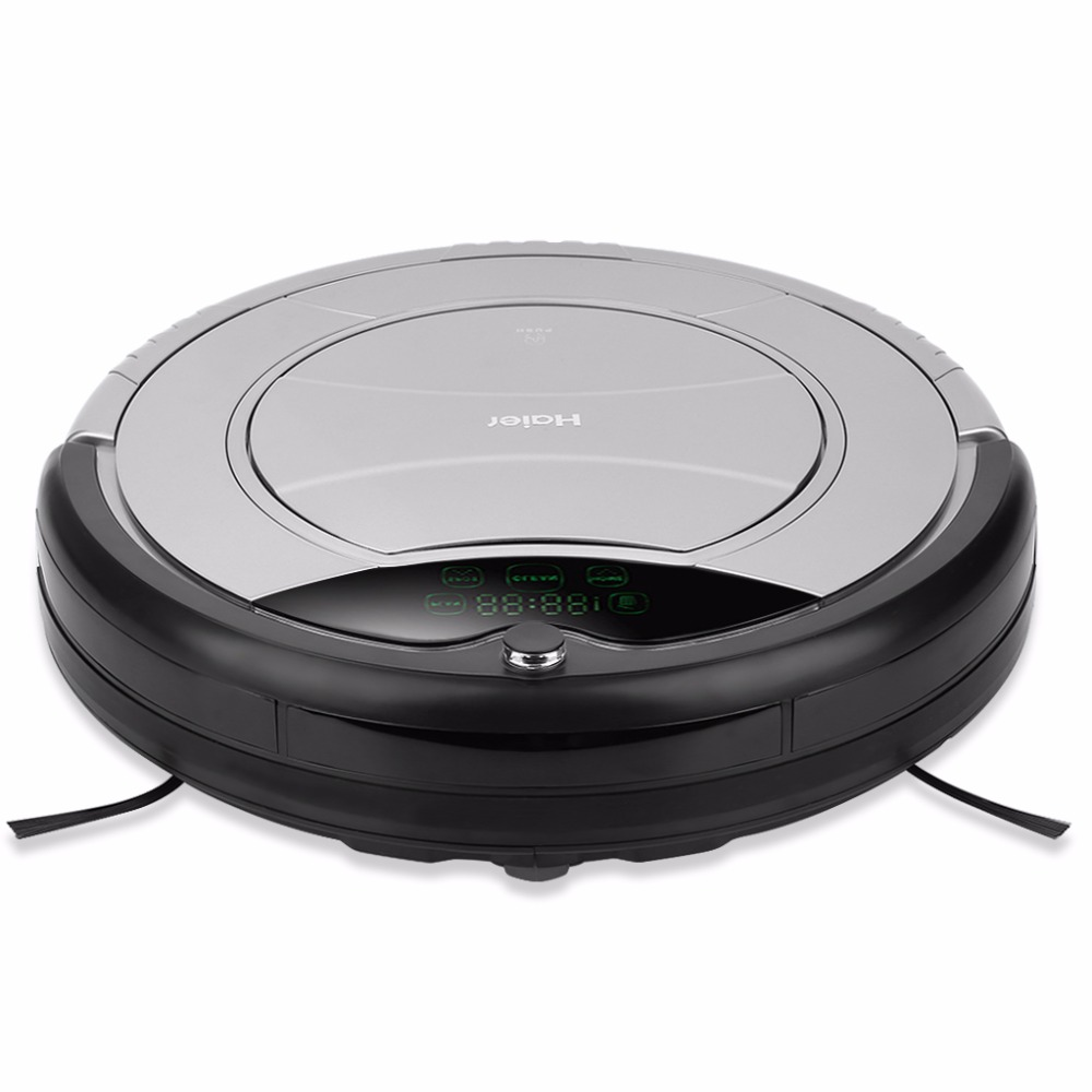 Haier Pathfinder Robot Vacuum Cleaner Automatic Charging Floor Sweeping Machine Smart Cleaning Microfiber Dust Cleaner Mop seebest d720 robot vacuum cleaner mop home floor washing 2016 new v5 pro house sweeping cleaning