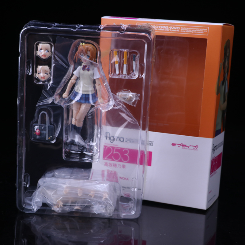 253 Love Live School Idol Project Kousaka Honoka Figma Action Figure Collectible Model Toy 14cm