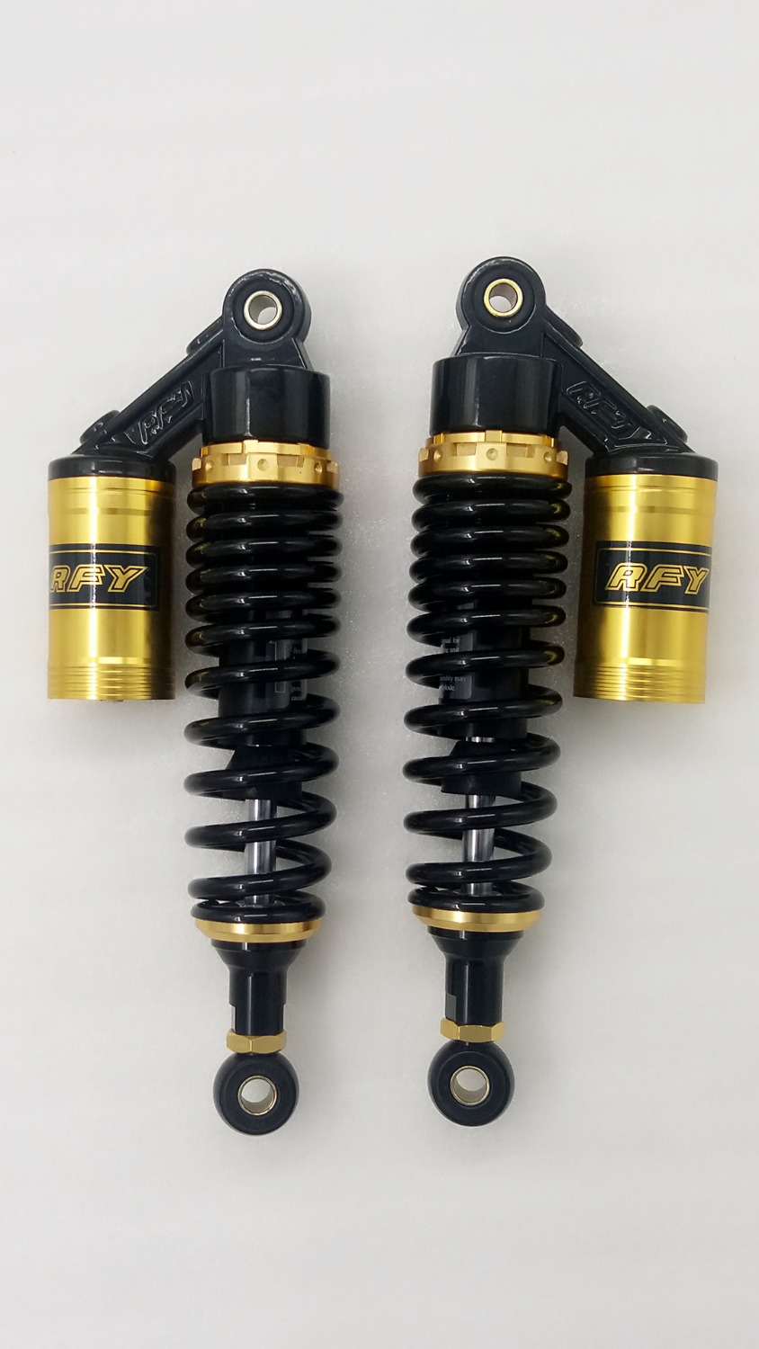 new 8mm spring 1 Pair 305mm Motorcycle Shock Absorber FOR GV650 Honda Yamaha XV750 XV1100Suzuki Kawasaki