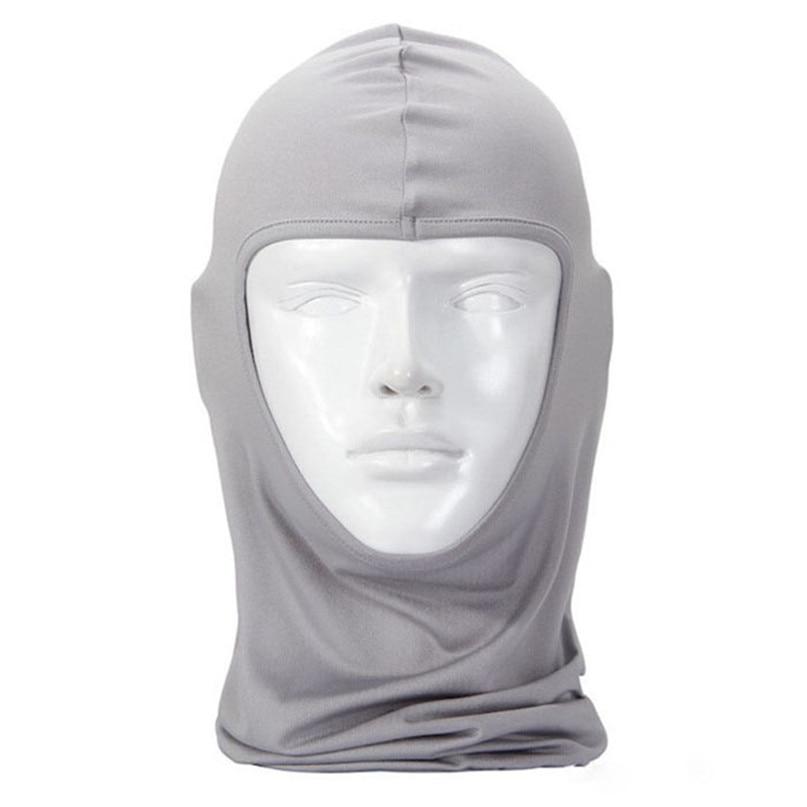 New Classic Lycra Ski Face Mask Bike Bicycle CS Sports Football Mask Balaclava Headband headgear halloween face mask #2a (15)