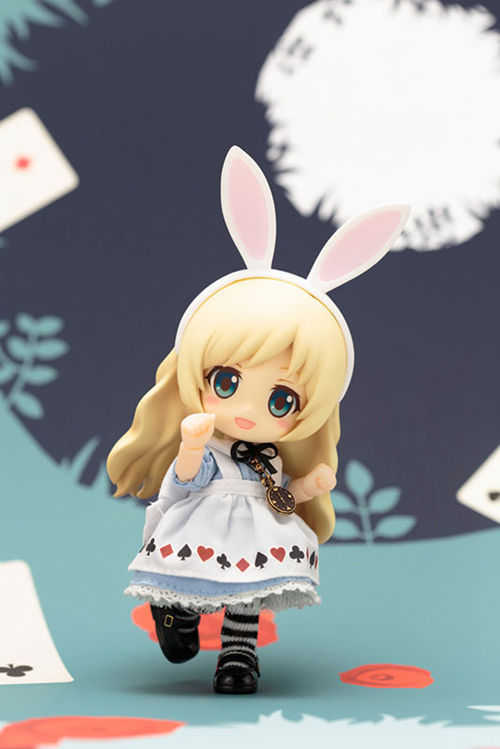 Alice in Wonderland Mad Hatter White Queen Q version 10CM Nendoroid PVC Action Figures Model Collectible Toys alice q posket characters alice alice in wonderland pvc figure collectible model toy doll 15cm