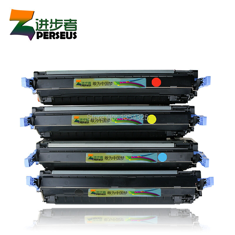 4 Pack HIGH QUALITY TONER CARTRIDGE FOR HP 642A CB400A CB401A CB402A CB403A FOR HP CP4005 CP4005n CP4005dn CP4005dtn PRINTER