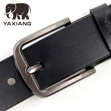 ФОТО [yaxiang] new designer luxury famous high quality pin buckle belts  men's retro styles 38mm width belt cinturones hombre